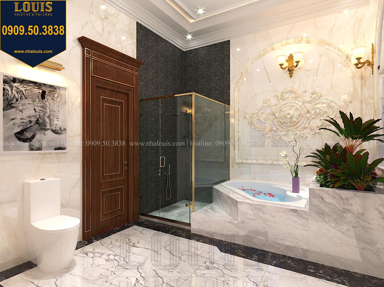 Phòng tắm và WC master Thiết kế biệt thự cổ điển 2 tầng nguy nga và đẳng cấp tại Tây Ninh - 51
