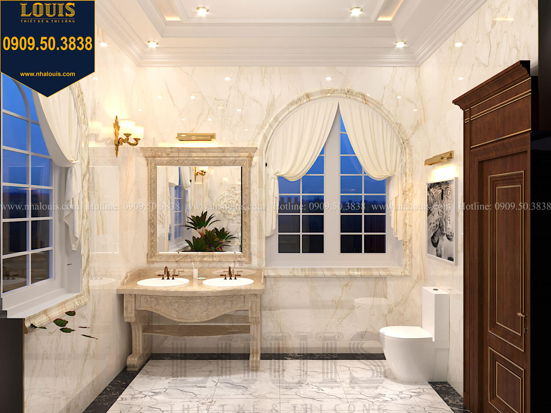 Phòng tắm và WC master Thiết kế biệt thự cổ điển 2 tầng nguy nga và đẳng cấp tại Tây Ninh - 52