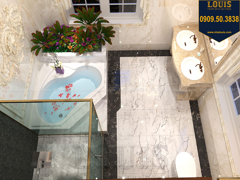 Phòng tắm và WC master Thiết kế biệt thự cổ điển 2 tầng nguy nga và đẳng cấp tại Tây Ninh - 53