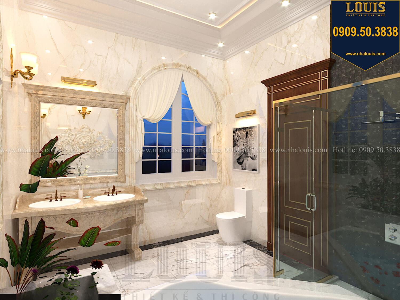 Phòng tắm và WC master Thiết kế biệt thự cổ điển 2 tầng nguy nga và đẳng cấp tại Tây Ninh - 54