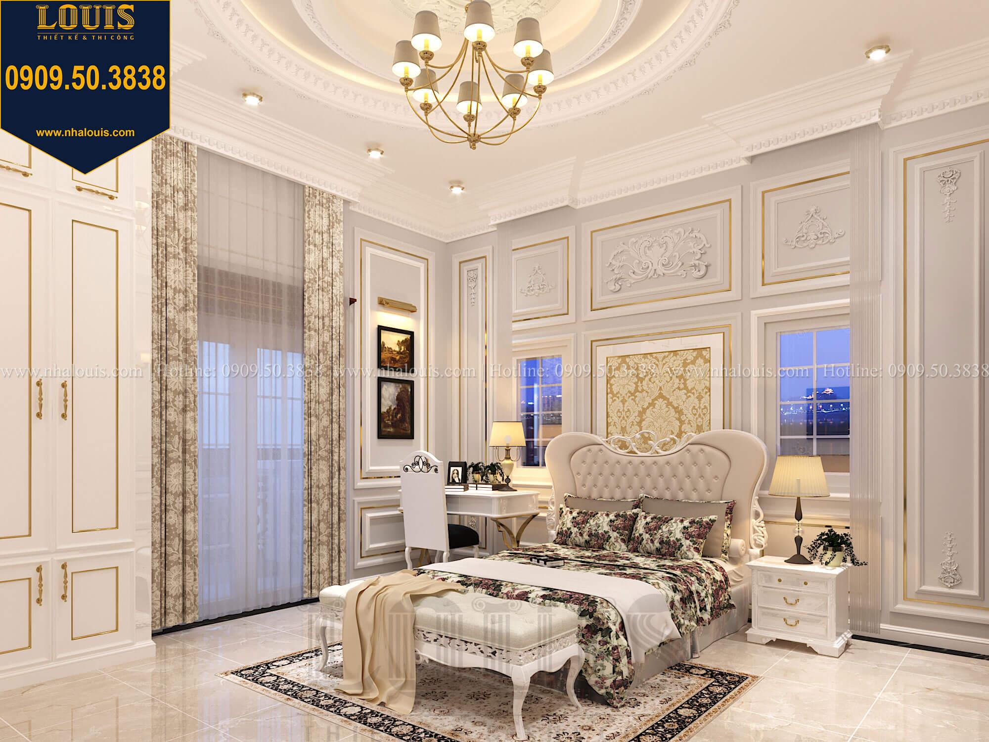 Phòng ngủ con gái Thiết kế biệt thự cổ điển 2 tầng nguy nga và đẳng cấp tại Tây Ninh - 58
