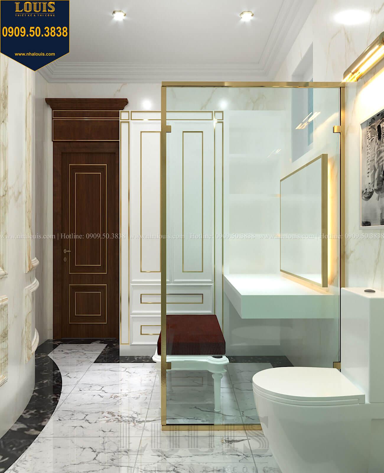 Phòng tắm và WC con gái Thiết kế biệt thự cổ điển 2 tầng nguy nga và đẳng cấp tại Tây Ninh - 61