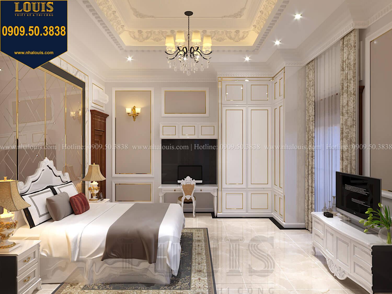 Phòng ngủ con trai Thiết kế biệt thự cổ điển 2 tầng nguy nga và đẳng cấp tại Tây Ninh - 62