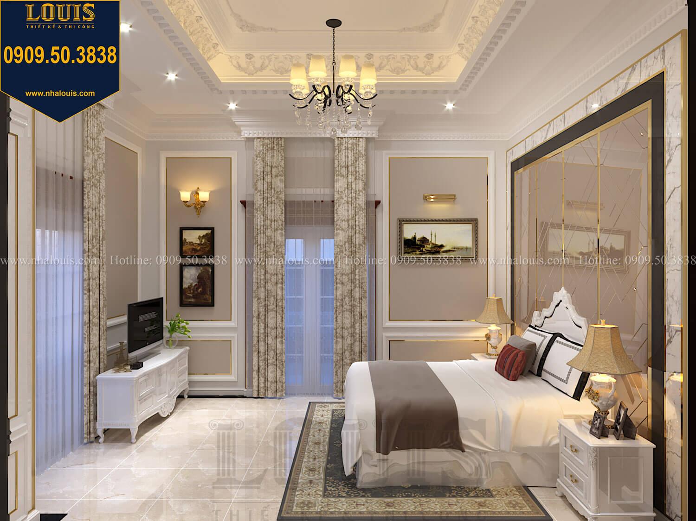 Phòng ngủ con trai Thiết kế biệt thự cổ điển 2 tầng nguy nga và đẳng cấp tại Tây Ninh - 63