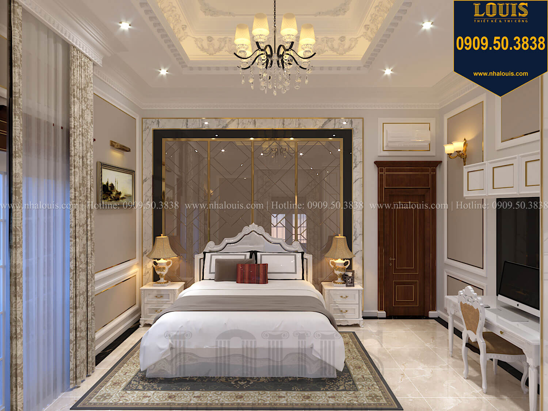 Phòng ngủ con trai Thiết kế biệt thự cổ điển 2 tầng nguy nga và đẳng cấp tại Tây Ninh - 64