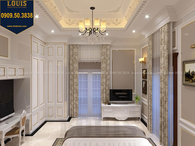 Phòng ngủ con trai Thiết kế biệt thự cổ điển 2 tầng nguy nga và đẳng cấp tại Tây Ninh - 65