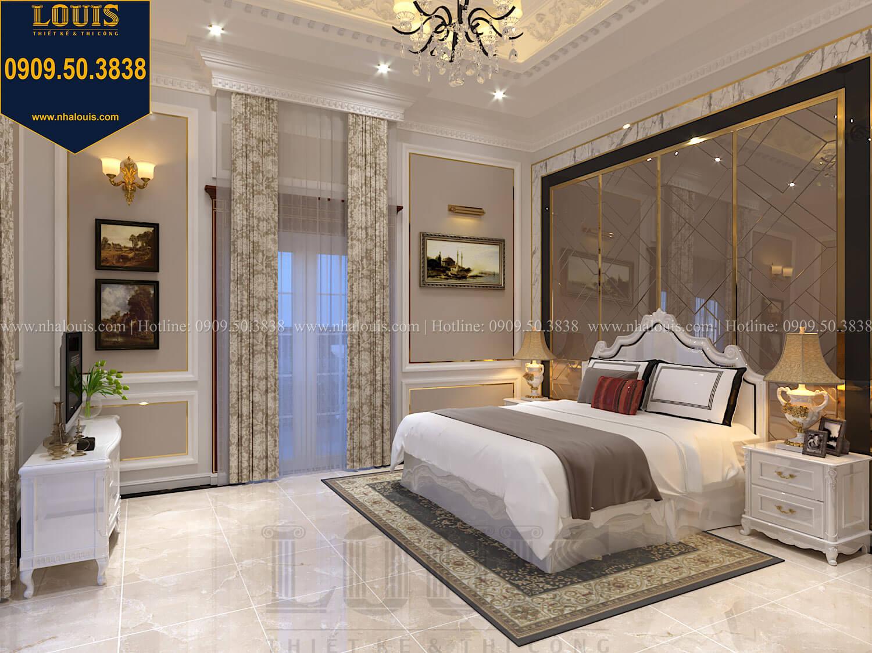 Phòng ngủ con trai Thiết kế biệt thự cổ điển 2 tầng nguy nga và đẳng cấp tại Tây Ninh - 66