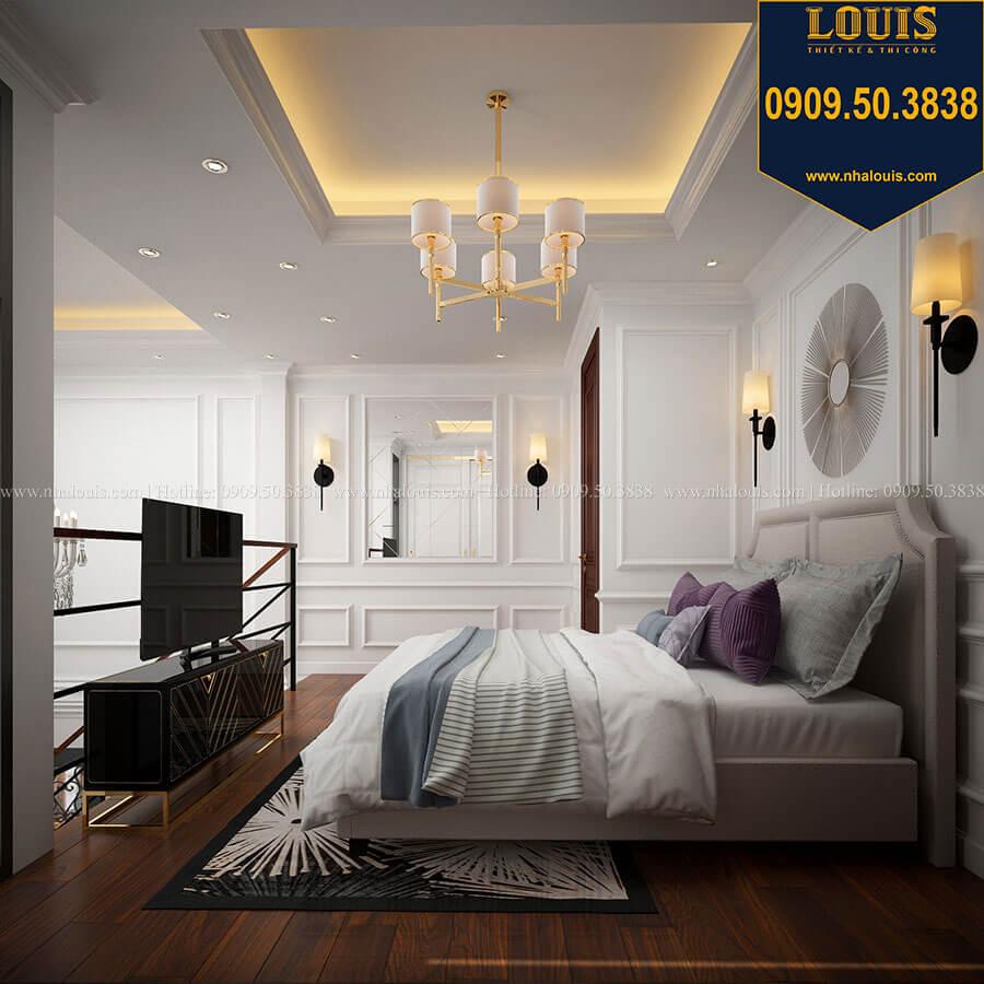 Phòng ngủ Thiết kế nhà phố tân cổ điển 5 tầng chuẩn sang trọng để cho thuê tại Quận 2 - 11