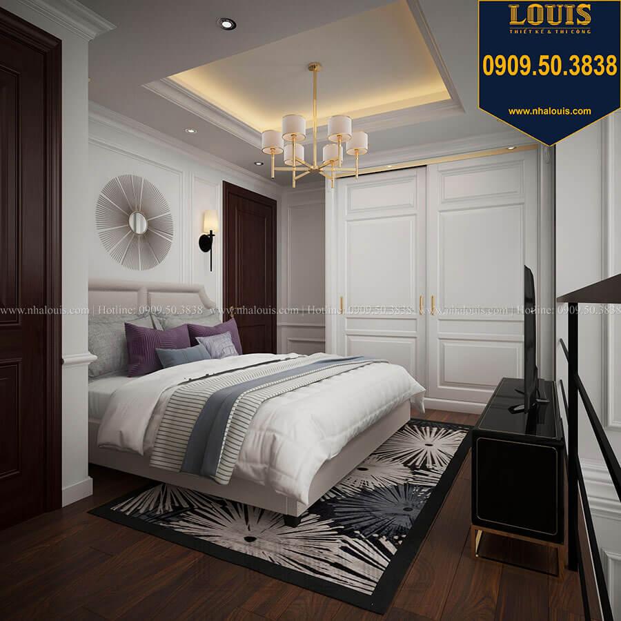 Phòng ngủ Thiết kế nhà phố tân cổ điển 5 tầng chuẩn sang trọng để cho thuê tại Quận 2 - 12