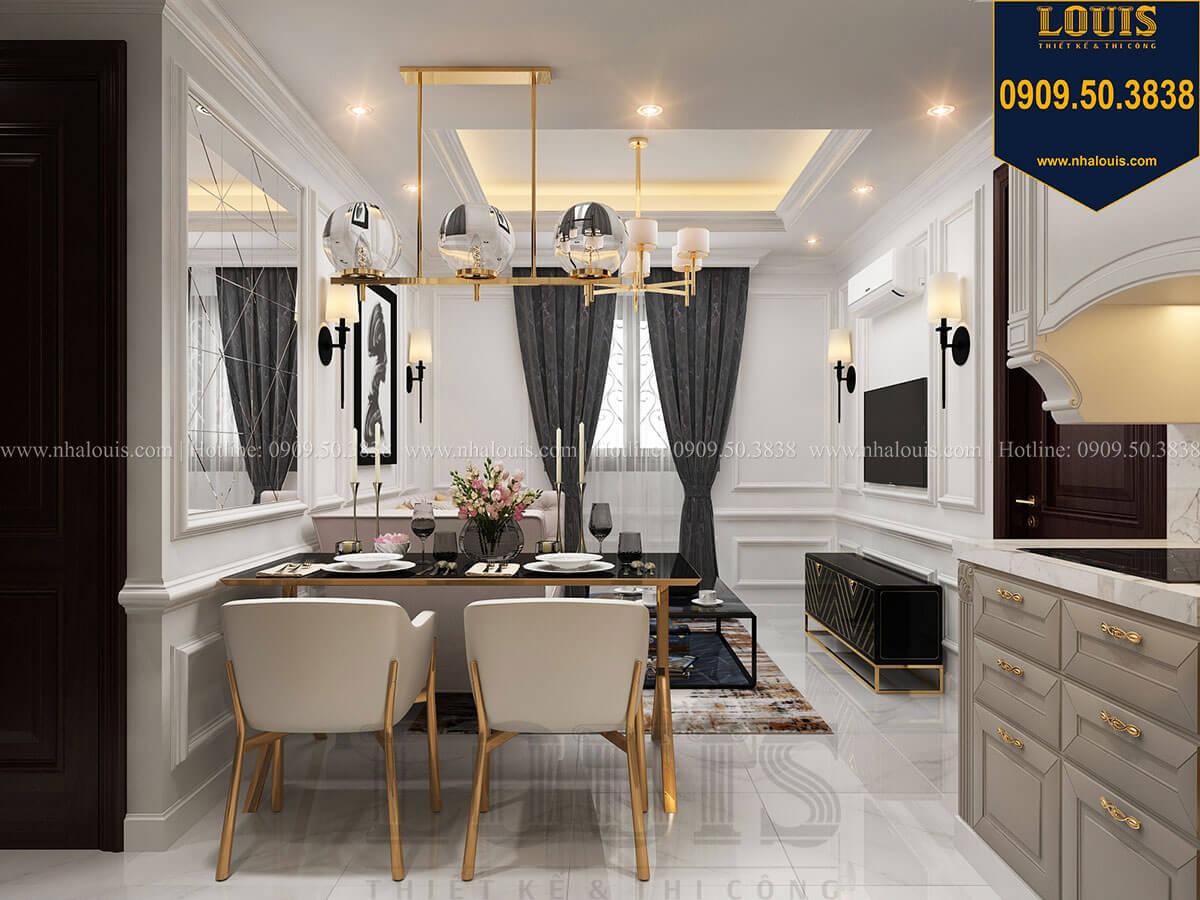 Bếp và Phòng ăn Thiết kế nhà phố tân cổ điển 5 tầng chuẩn sang trọng để cho thuê tại Quận 2 - 15