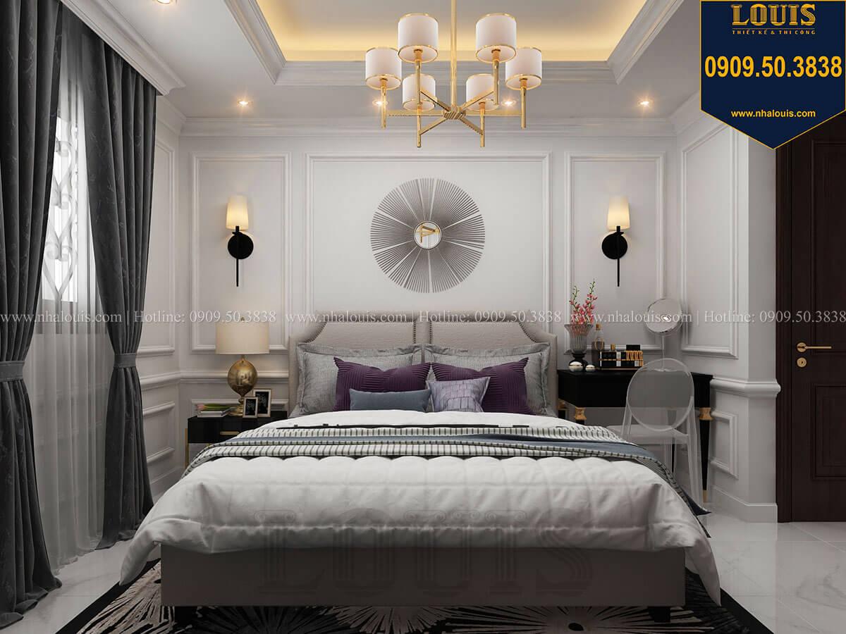 Phòng ngủ Thiết kế nhà phố tân cổ điển 5 tầng chuẩn sang trọng để cho thuê tại Quận 2 - 17