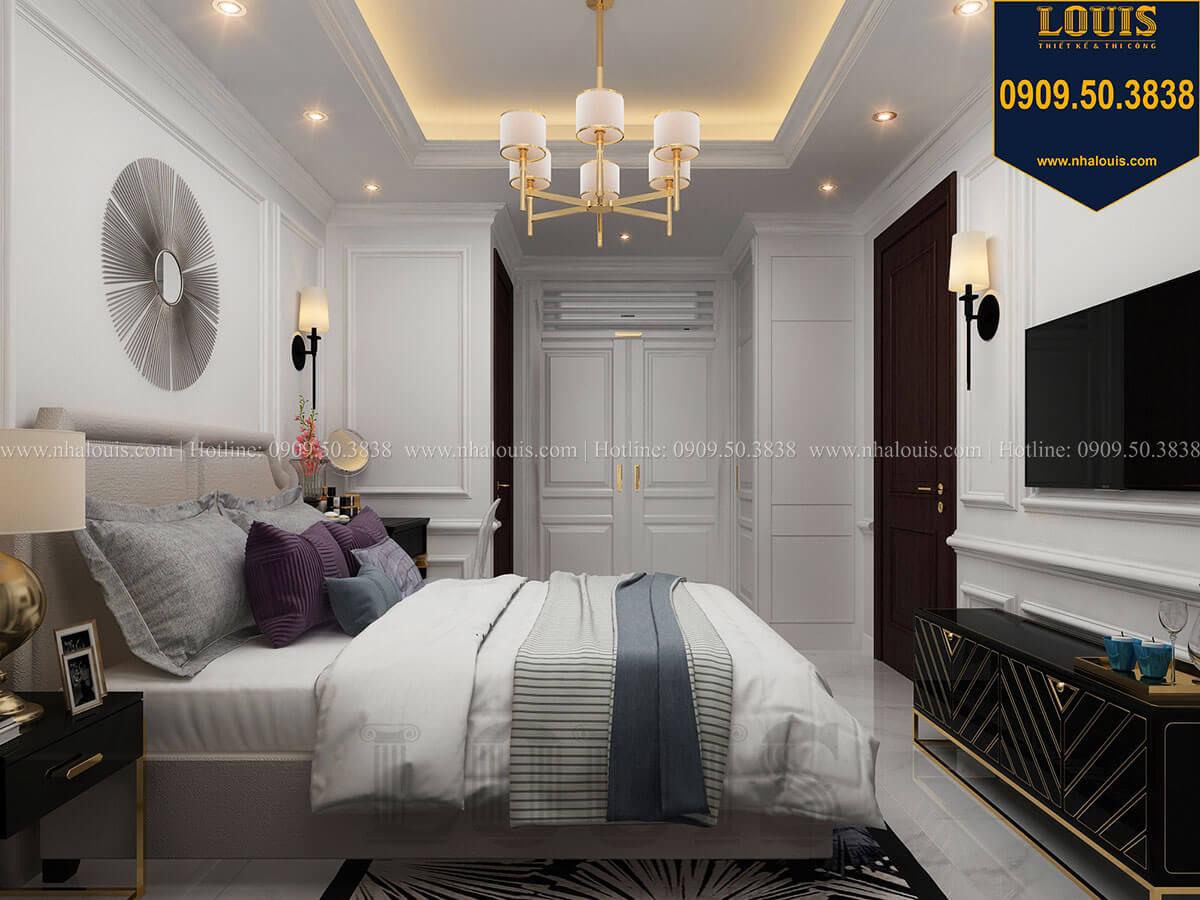 Phòng ngủ Thiết kế nhà phố tân cổ điển 5 tầng chuẩn sang trọng để cho thuê tại Quận 2 - 18