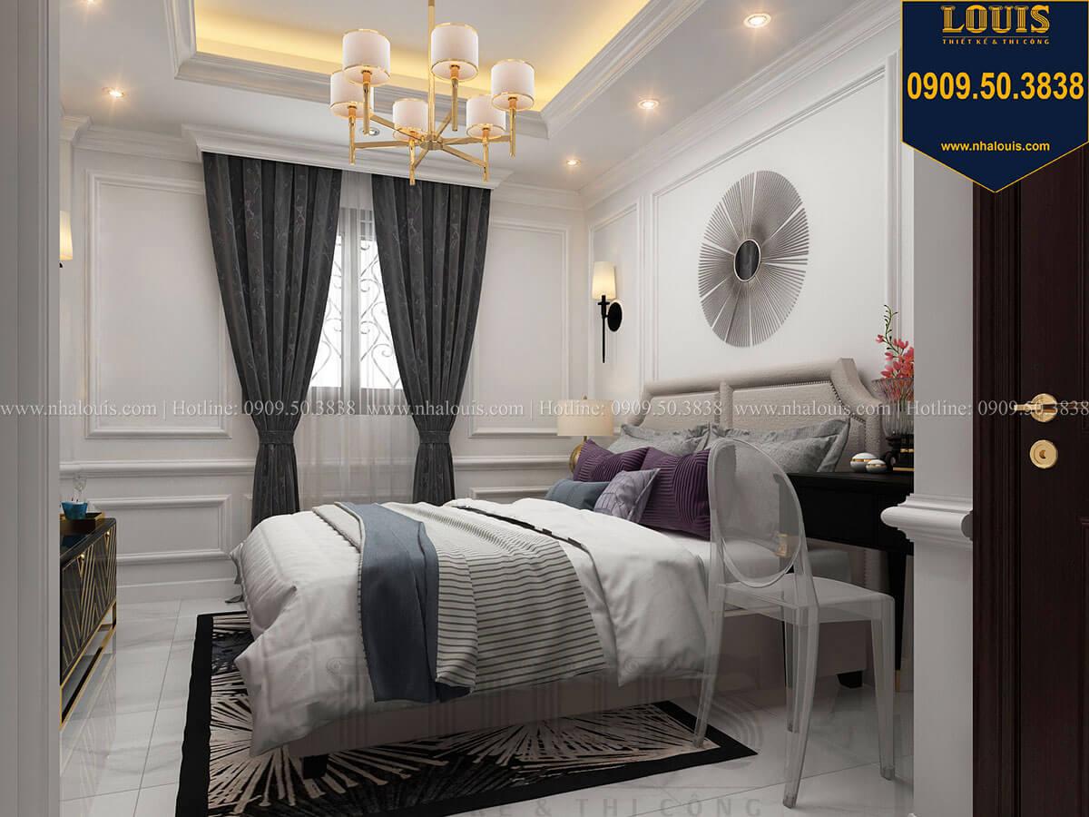 Phòng ngủ Thiết kế nhà phố tân cổ điển 5 tầng chuẩn sang trọng để cho thuê tại Quận 2 - 19