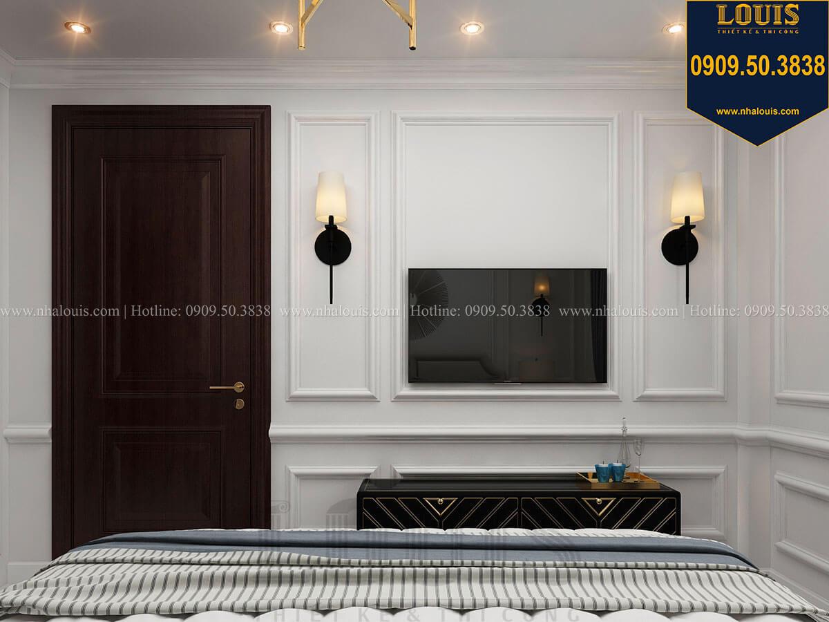 Phòng ngủ Thiết kế nhà phố tân cổ điển 5 tầng chuẩn sang trọng để cho thuê tại Quận 2 - 20