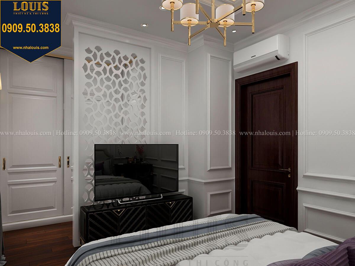 Phòng ngủ Thiết kế nhà phố tân cổ điển 5 tầng chuẩn sang trọng để cho thuê tại Quận 2 - 22