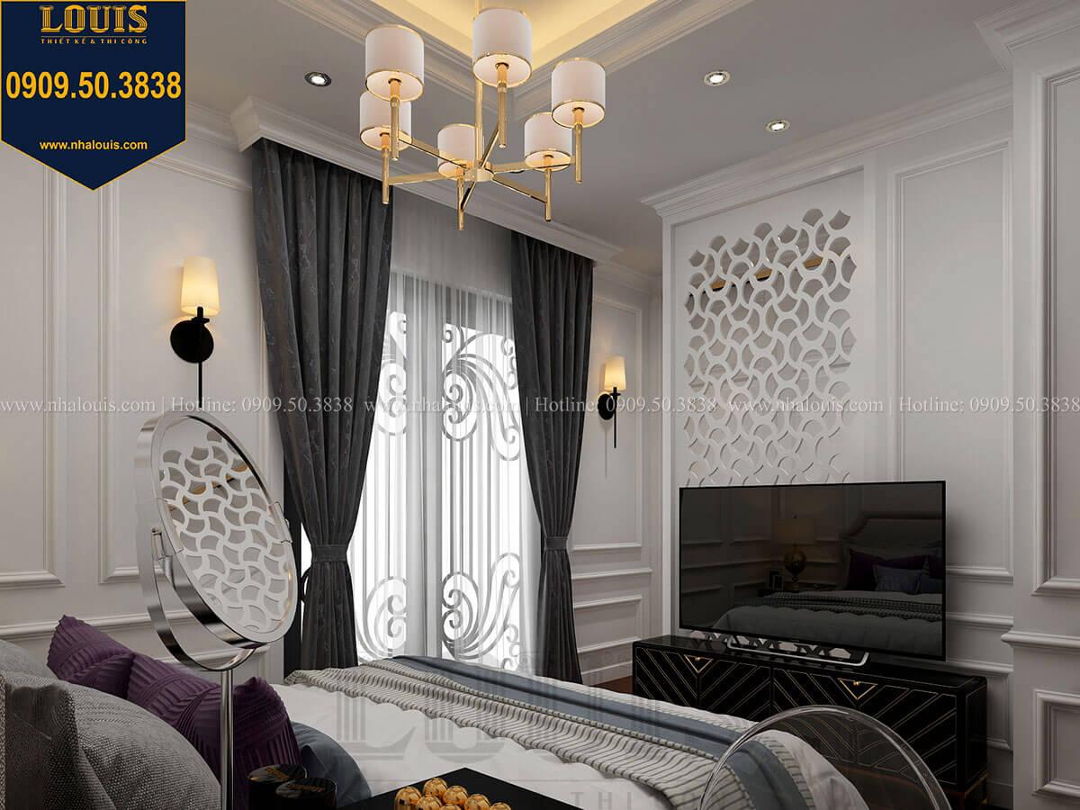Phòng ngủ Thiết kế nhà phố tân cổ điển 5 tầng chuẩn sang trọng để cho thuê tại Quận 2 - 23