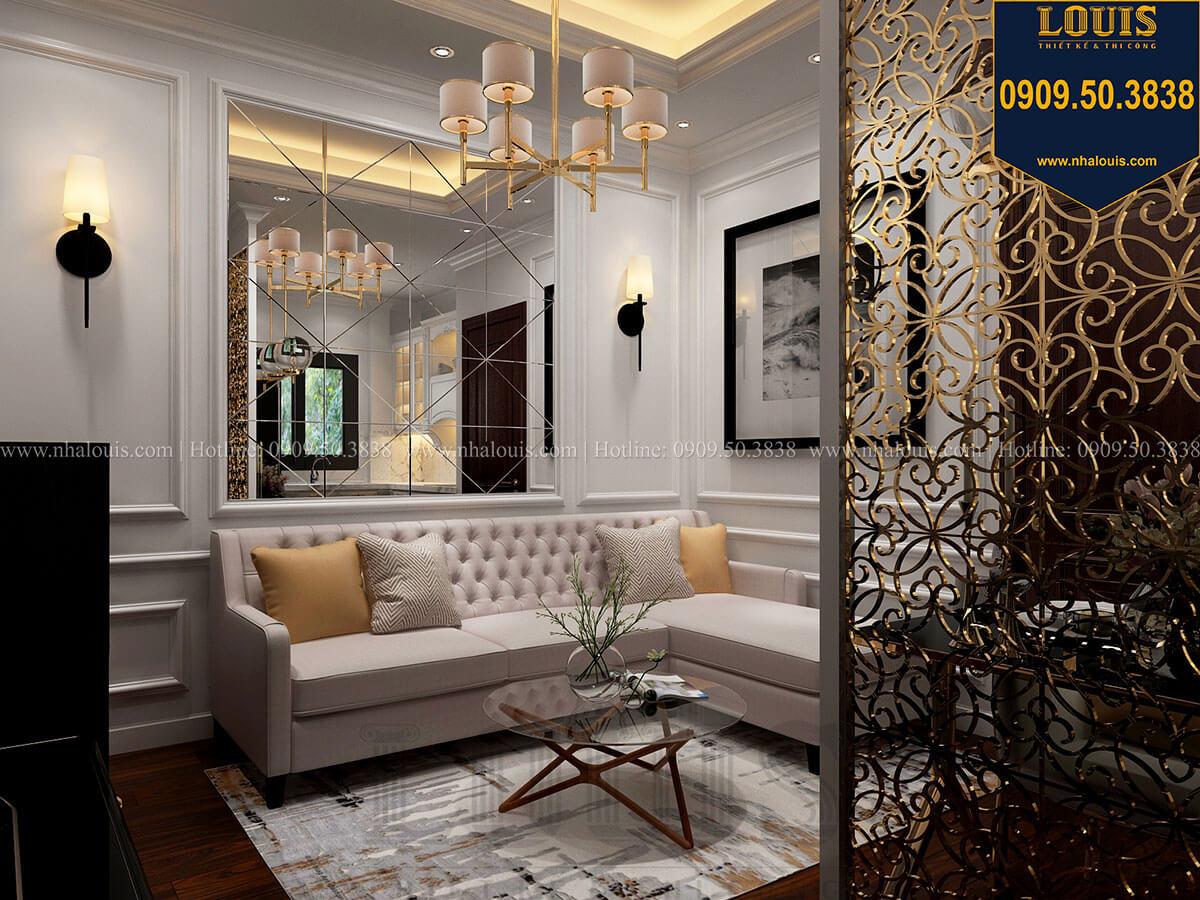 Phòng khách Thiết kế nhà phố tân cổ điển 5 tầng chuẩn sang trọng để cho thuê tại Quận 2 - 24