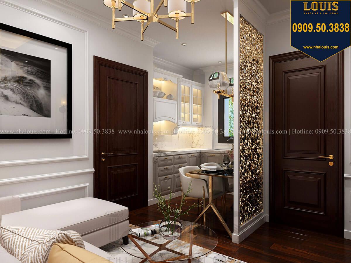Phòng ngủ Thiết kế nhà phố tân cổ điển 5 tầng chuẩn sang trọng để cho thuê tại Quận 2 - 27