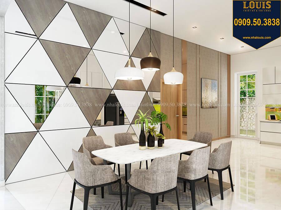 Phòng ăn Mẫu biệt thự hiện đại 2 tầng mái Thái sang trọng tại Đồng Nai