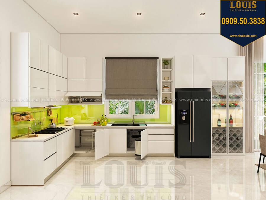 Phòng bếp Mẫu biệt thự hiện đại 2 tầng mái Thái sang trọng tại Đồng Nai
