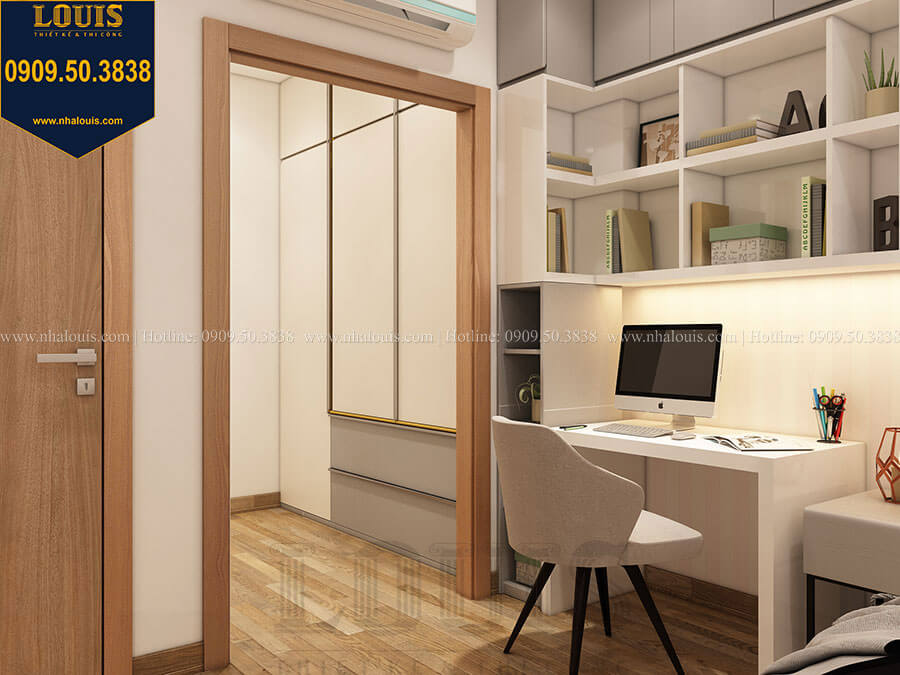 Phòng ngủ Mẫu biệt thự hiện đại 2 tầng mái Thái sang trọng tại Đồng Nai