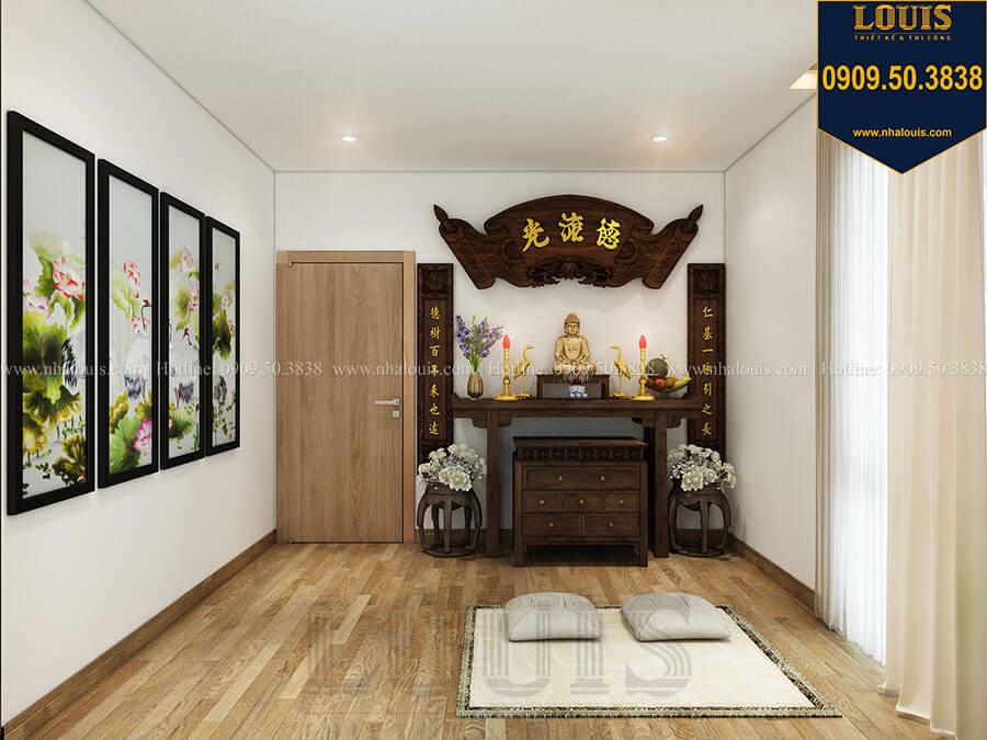 Phòng thờ Mẫu biệt thự hiện đại 2 tầng mái Thái sang trọng tại Đồng Nai