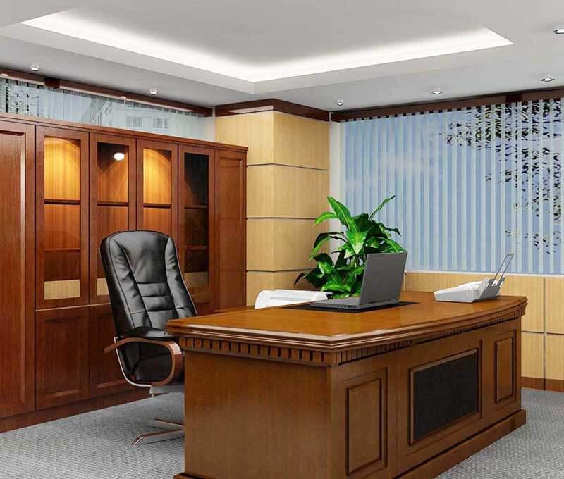 Mẫu nhà biệt thự 3 tầng đẹp và cách bố trí bàn làm việc hợp phong thủy