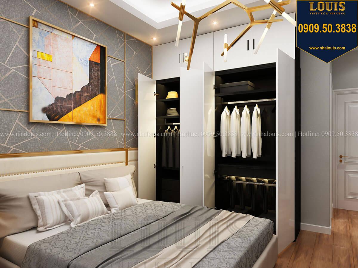 Phòng ngủ Mẫu nhà phố 3 tầng hiện đại với 2 mặt tiền tại Tân Phú - 20