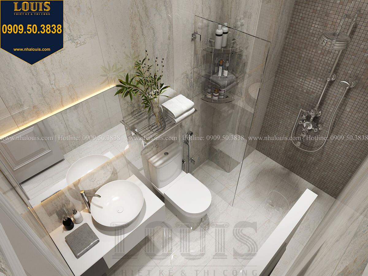 Phòng tắm và WC Mẫu nhà phố 3 tầng hiện đại với 2 mặt tiền tại Tân Phú - 28