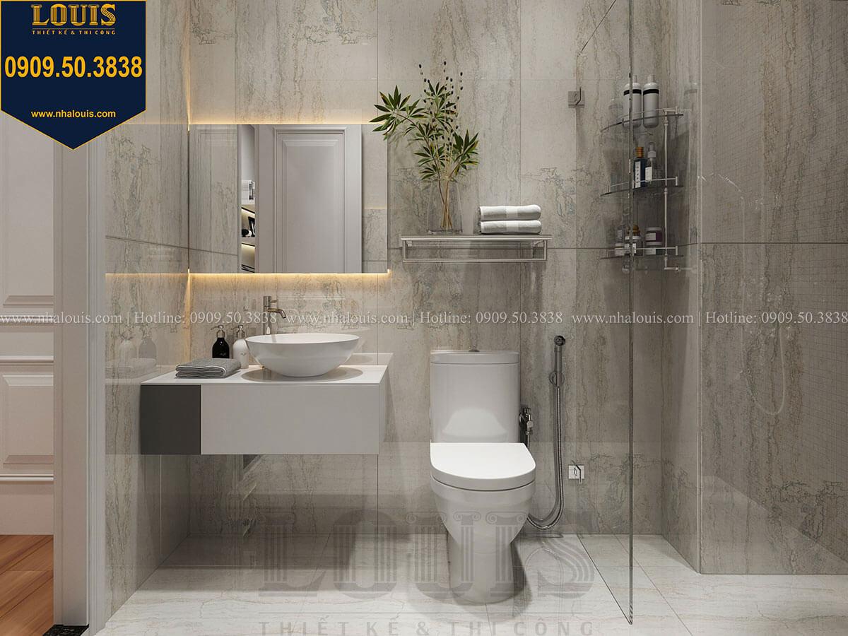 Phòng tắm và WC Mẫu nhà phố 3 tầng hiện đại với 2 mặt tiền tại Tân Phú - 29