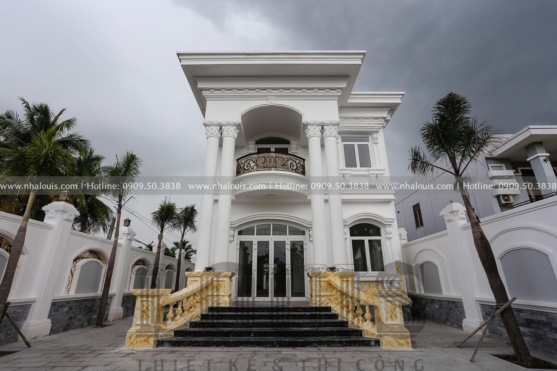 Khám phá câu chuyện phía sau biệt thự tân cổ điển 2 tầng tại Tây Ninh