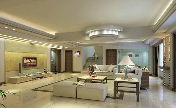 5 lời khuyên về màu sắc cho phòng khách biệt thự hiện đại 2 tầng đẹp hút hồn