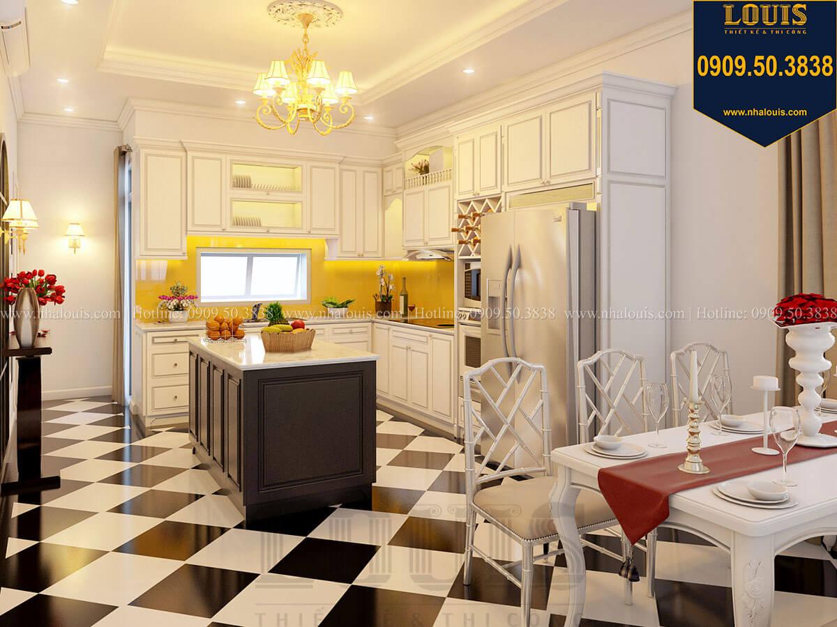 Bếp và phòng ăn Biệt thự mini phong cách đồng quê kiểu Mỹ tại Đăk Lăk - 15