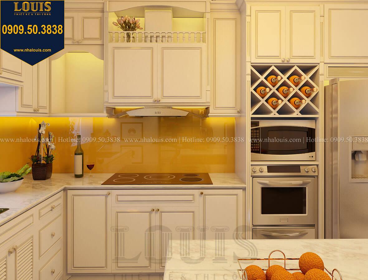 Bếp và phòng ăn Biệt thự mini phong cách đồng quê kiểu Mỹ tại Đăk Lăk - 17