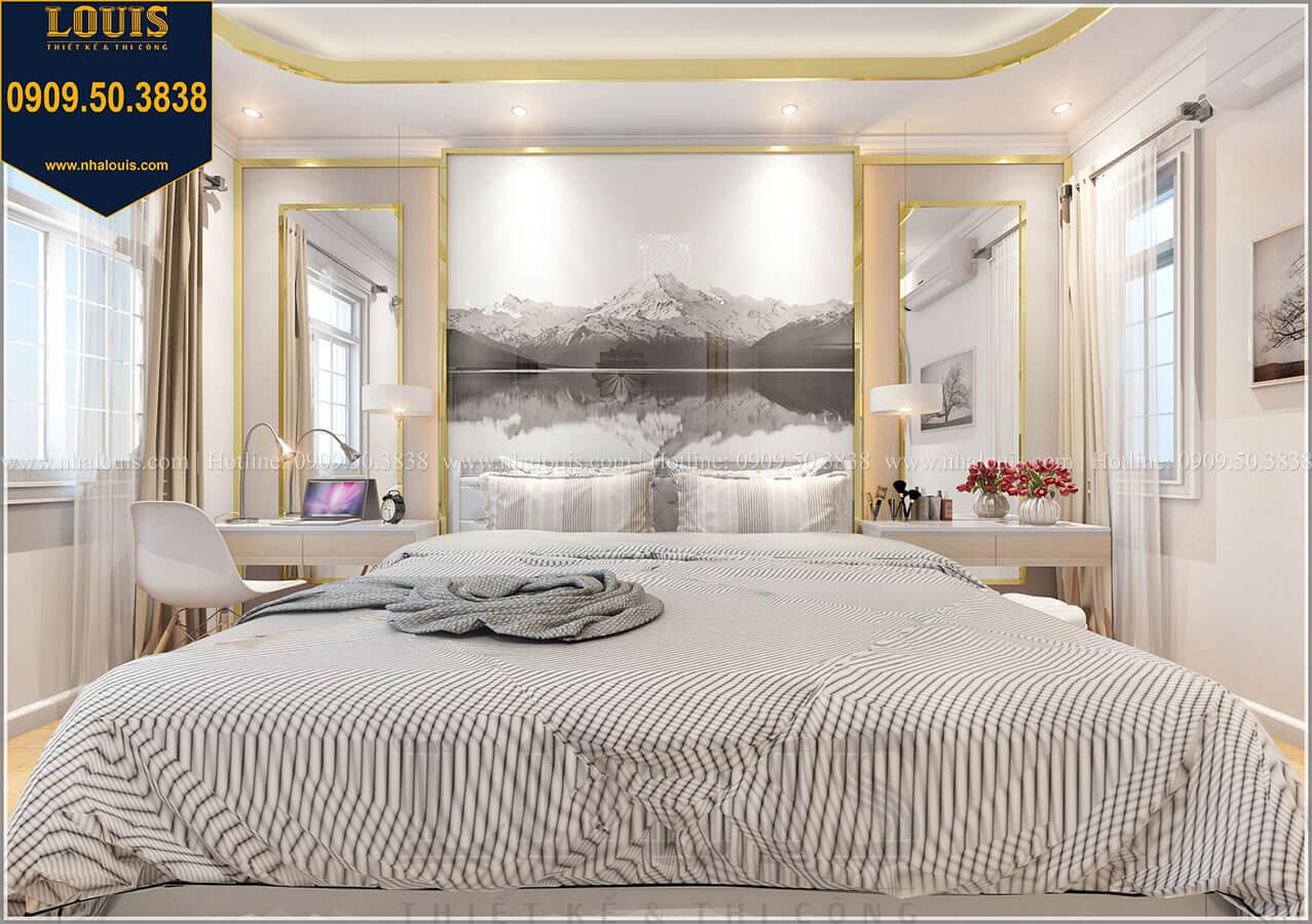 Phòng ngủ master Biệt thự mini phong cách đồng quê kiểu Mỹ tại Đăk Lăk - 20