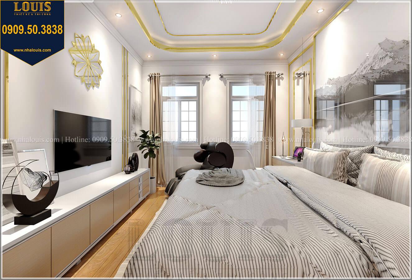 Phòng ngủ master Biệt thự mini phong cách đồng quê kiểu Mỹ tại Đăk Lăk - 21