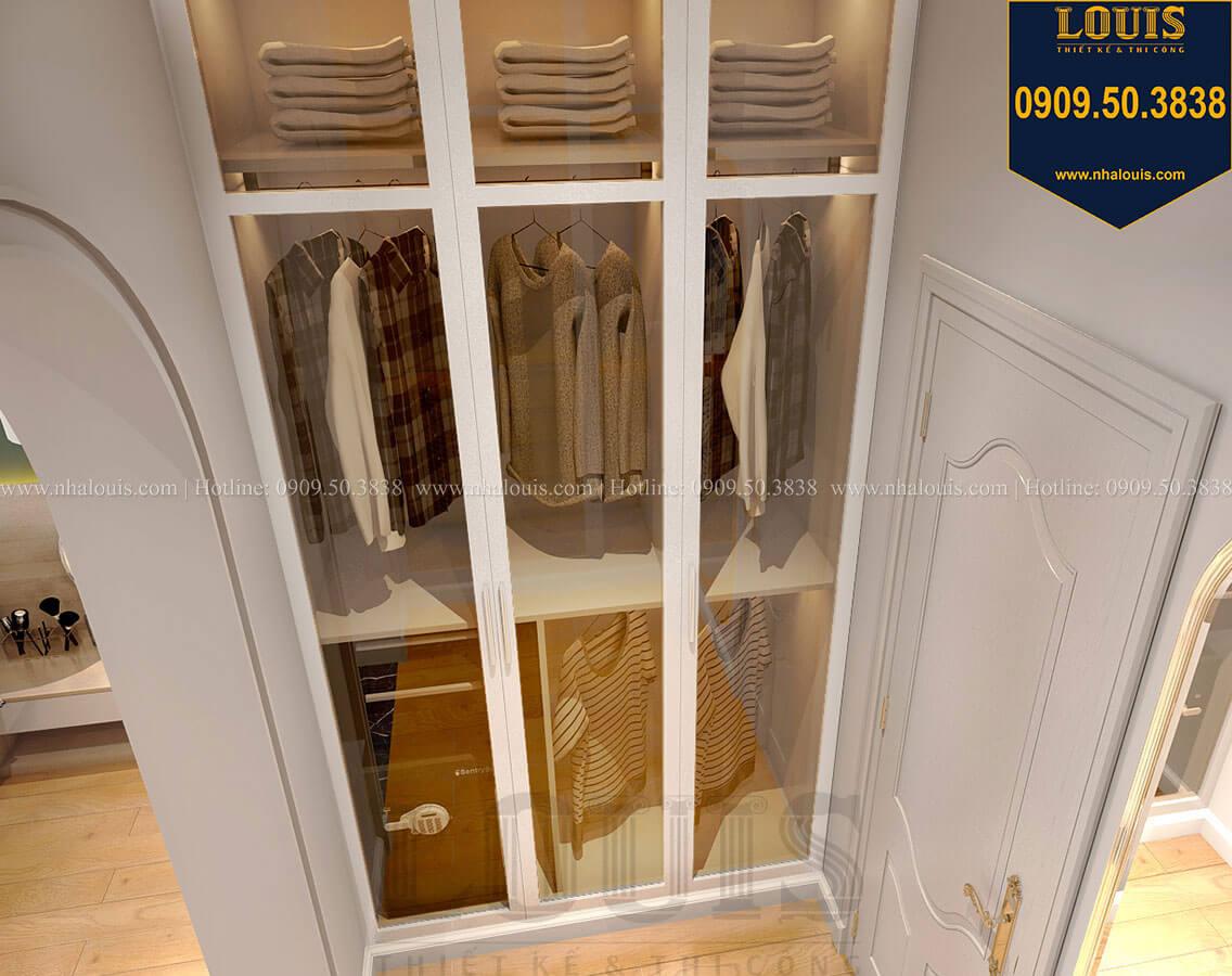 Phòng ngủ master Biệt thự mini phong cách đồng quê kiểu Mỹ tại Đăk Lăk - 22