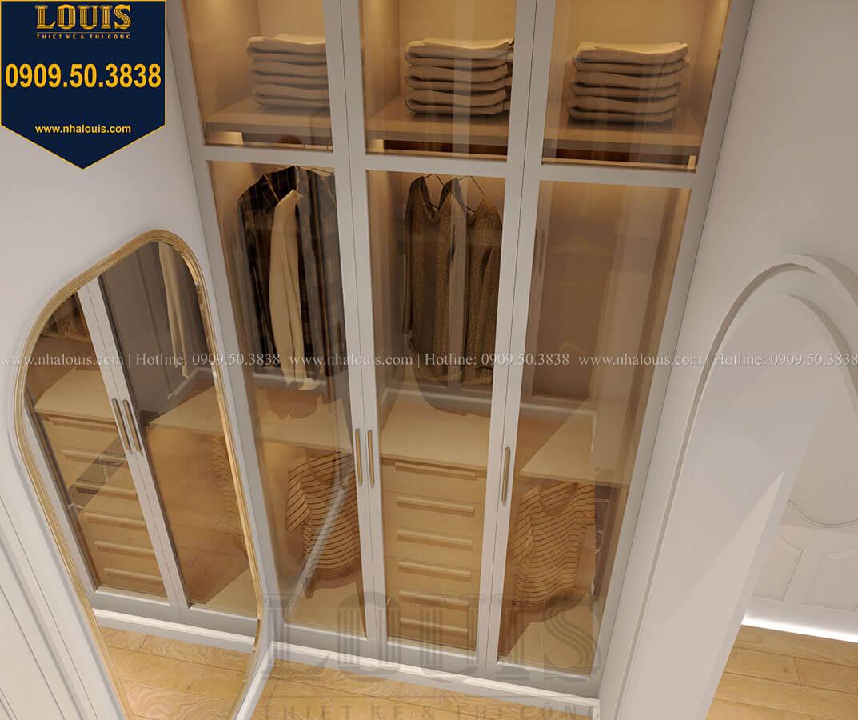Phòng ngủ master Biệt thự mini phong cách đồng quê kiểu Mỹ tại Đăk Lăk - 23