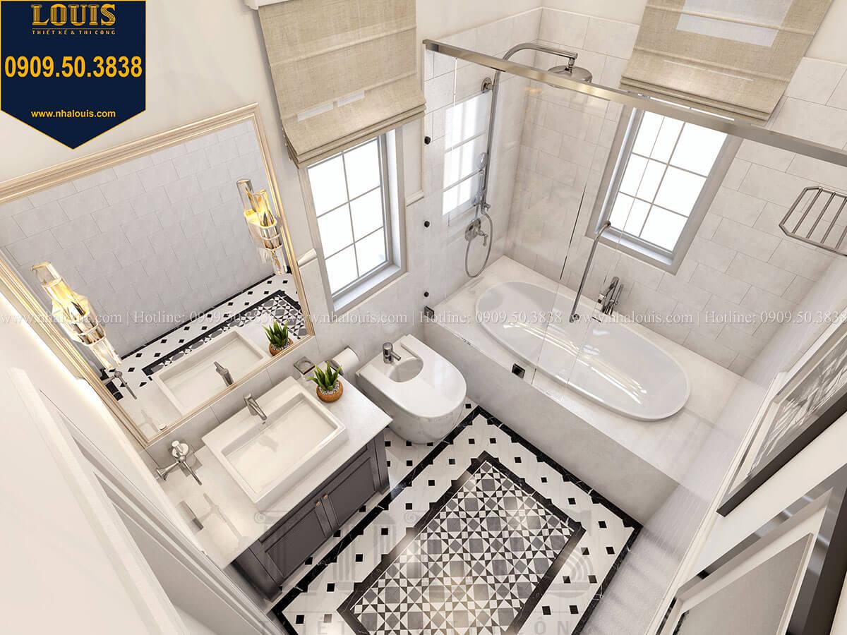Phòng tắm và WC Biệt thự mini phong cách đồng quê kiểu Mỹ tại Đăk Lăk - 24
