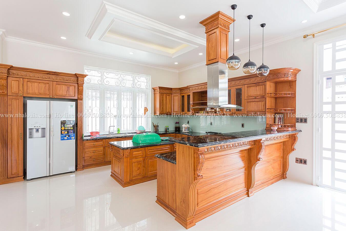 Phòng bếp ngày hoàn thiện