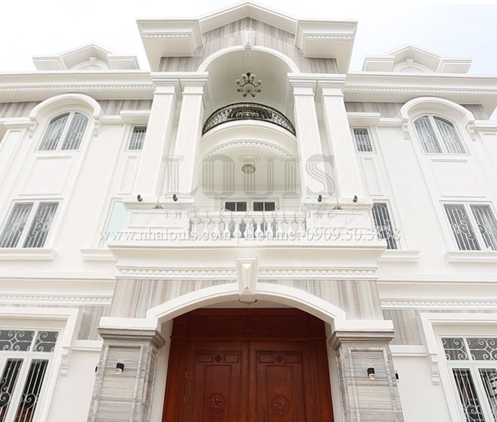 Hoàn thiện biệt thự 3 tầng phong cách tân cổ điển tại Tân Phú [Video]