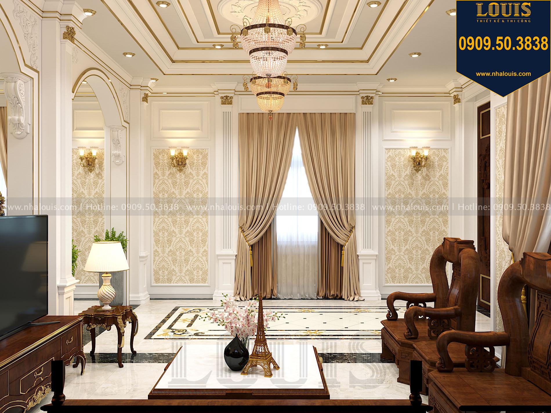 Phòng khách biệt thự