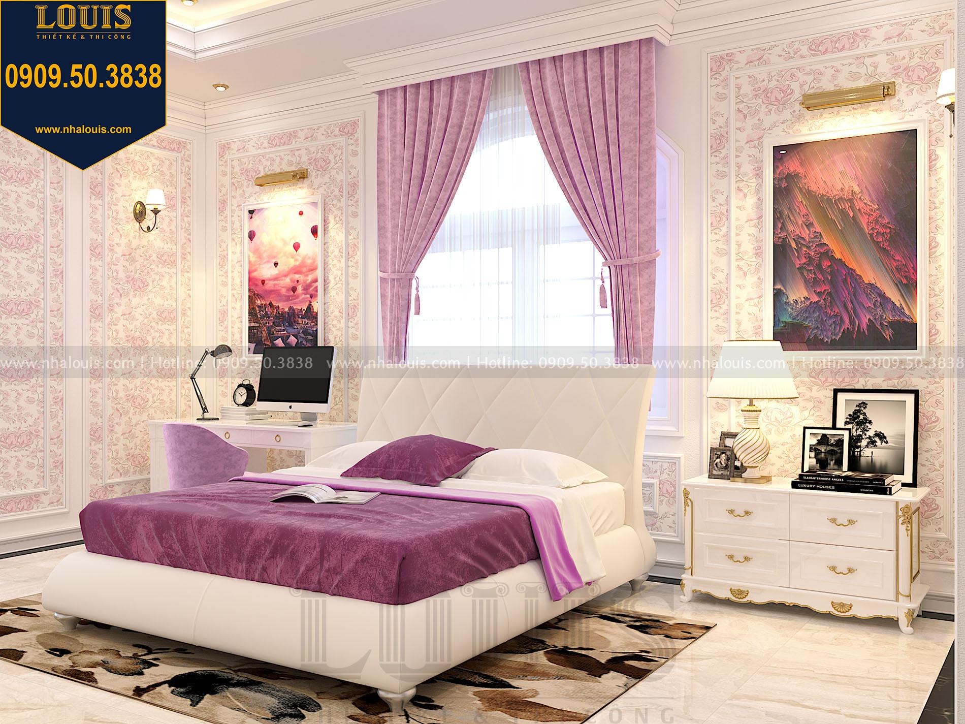 thiết kế phòng ngủ con gái