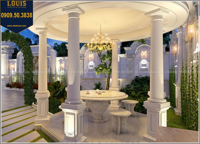 Nhà nghỉ Mẫu biệt thự cổ điển 4 tầng phong cách vương giả tại Thủ Đức - 21