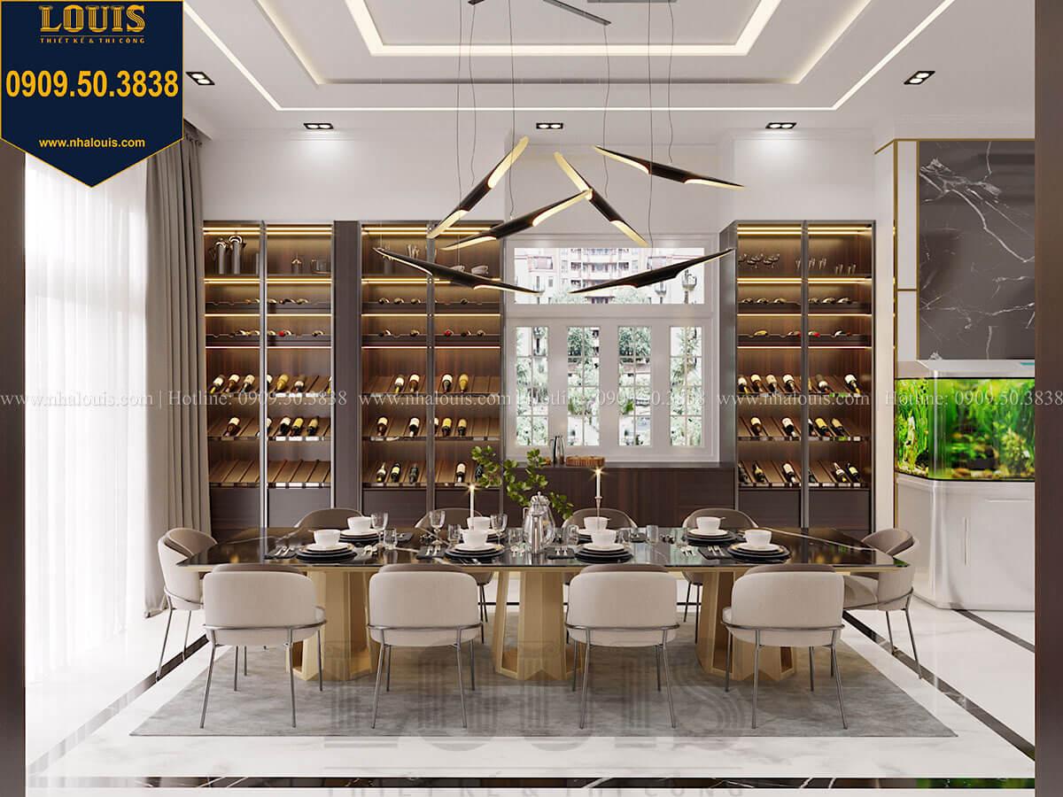 Phòng bếp Mẫu biệt thự cổ điển 4 tầng phong cách vương giả tại Thủ Đức - 32