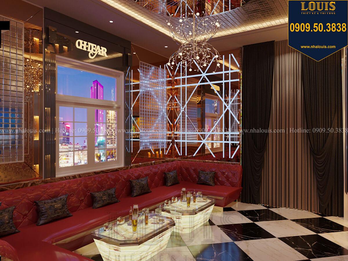 Phòng karaoke Mẫu biệt thự cổ điển 4 tầng phong cách vương giả tại Thủ Đức - 33