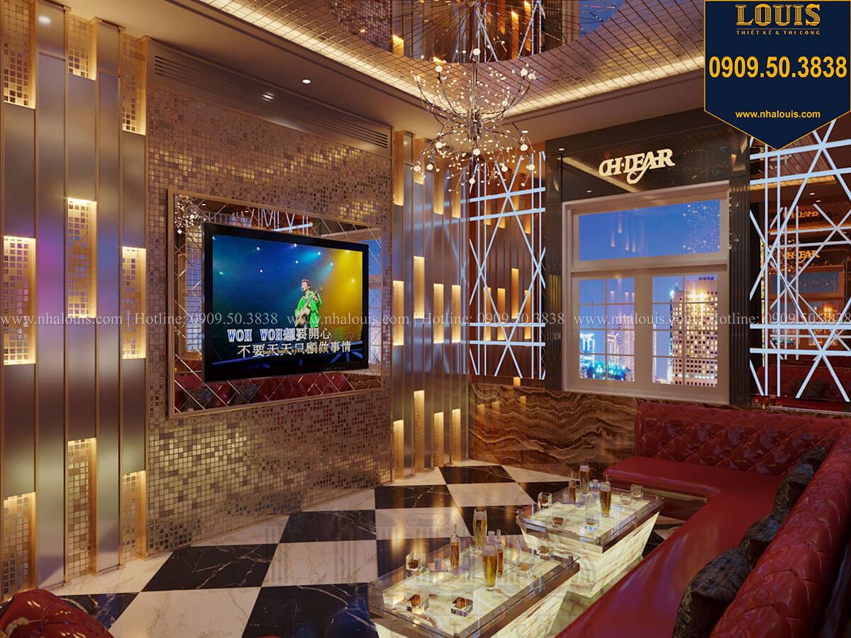 Phòng karaoke Mẫu biệt thự cổ điển 4 tầng phong cách vương giả tại Thủ Đức - 34