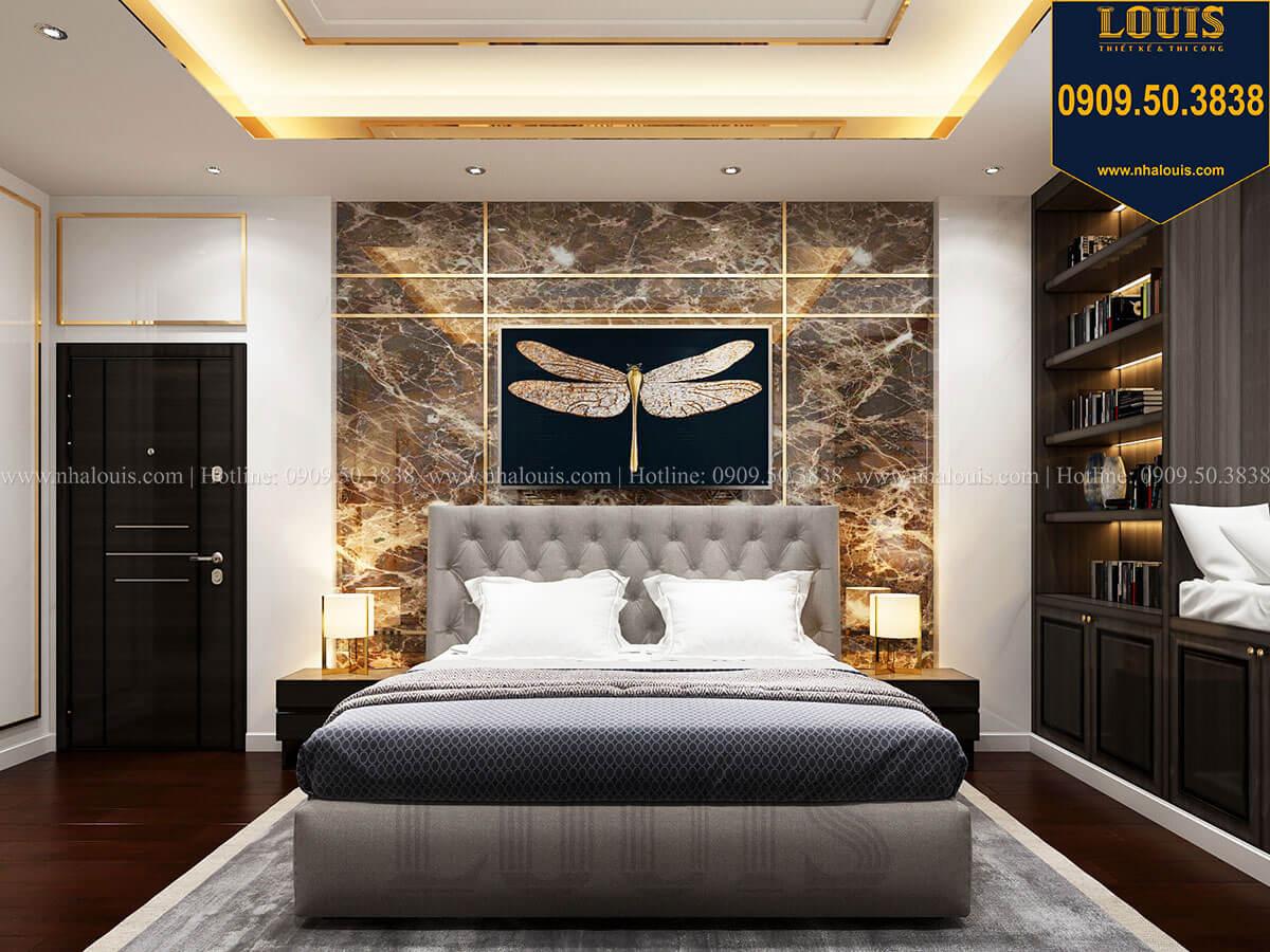 Phòng ngủ Mẫu biệt thự cổ điển 4 tầng phong cách vương giả tại Thủ Đức - 35