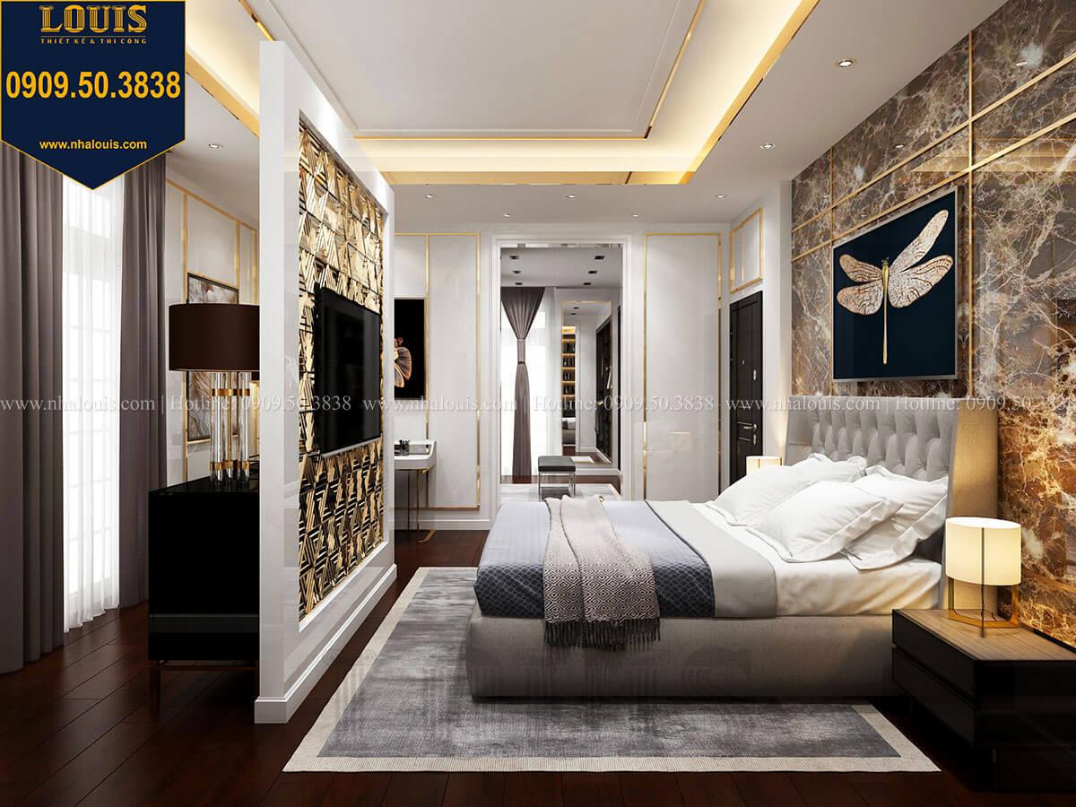 Phòng ngủ Mẫu biệt thự cổ điển 4 tầng phong cách vương giả tại Thủ Đức - 37