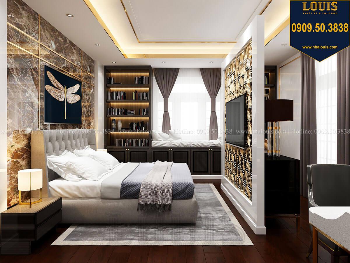 Phòng ngủ Mẫu biệt thự cổ điển 4 tầng phong cách vương giả tại Thủ Đức - 38